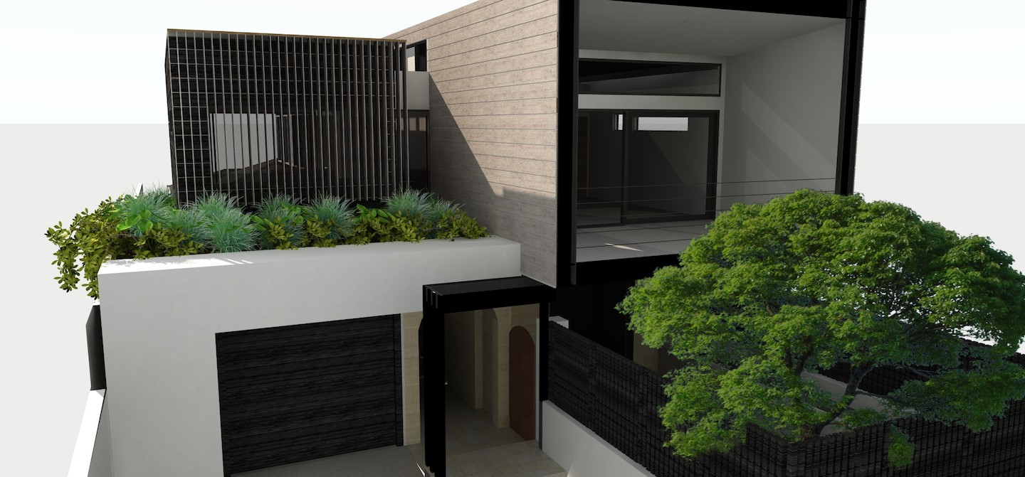 The Vision - House and Garden Renovation - SolScapes